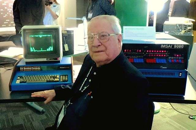 Gordon French, founder of the Homebrew Computer Club, photographed at the Living Computer Museum in 2013. He hosted the first meeting of the club in his garage, in March 1975.